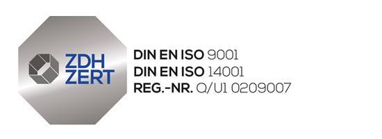 Kombi Siegel 9001 / 14001